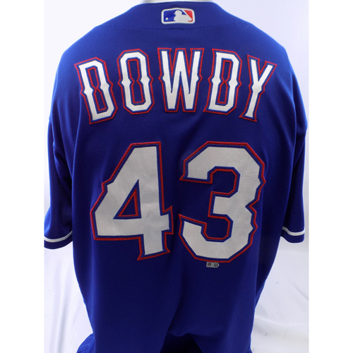 Photo of Team-Issued Blue Kyle Dowdy Jersey - Size 46
