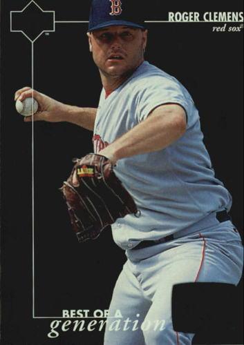 Photo of 1996 Upper Deck #374 Roger Clemens BG