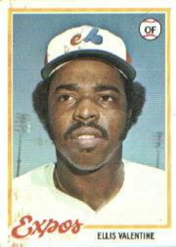 Photo of 1978 Topps #185 Ellis Valentine