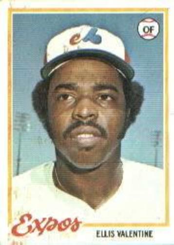 Photo of 1978 Topps #185 Ellis Valentine