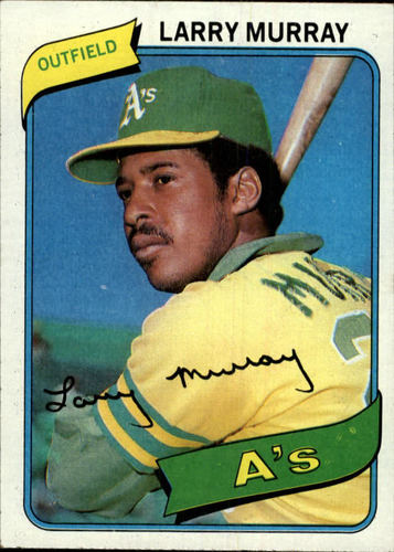 Photo of 1980 Topps #284 Larry Murray DP RC