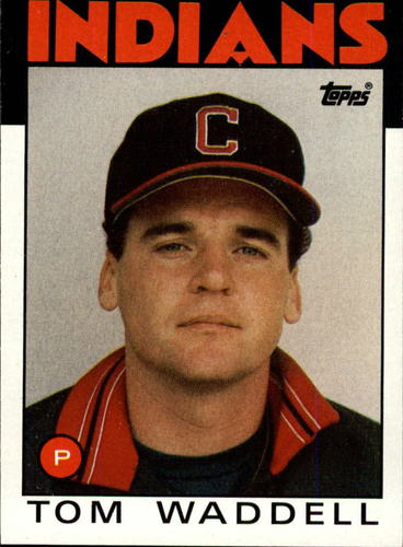 Photo of 1986 Topps #86 Tom Waddell