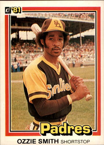 Photo of 1981 Donruss #1 Ozzie Smith