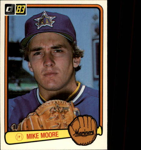 Photo of 1983 Donruss #428 Mike Moore RC