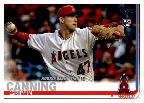 Photo of 2019 Topps Update #US34 Griffin Canning RD