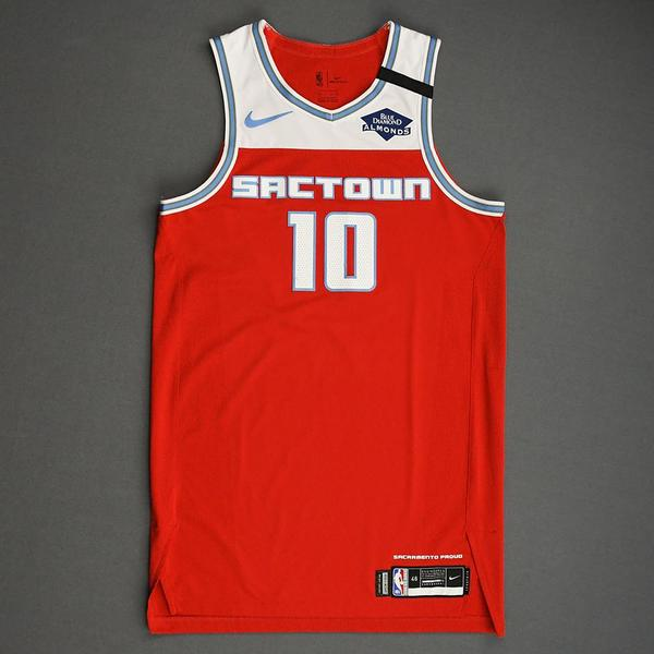 Image of Justin James - Sacramento Kings - Game-Issued City Edition Jersey - 2019-20 Season