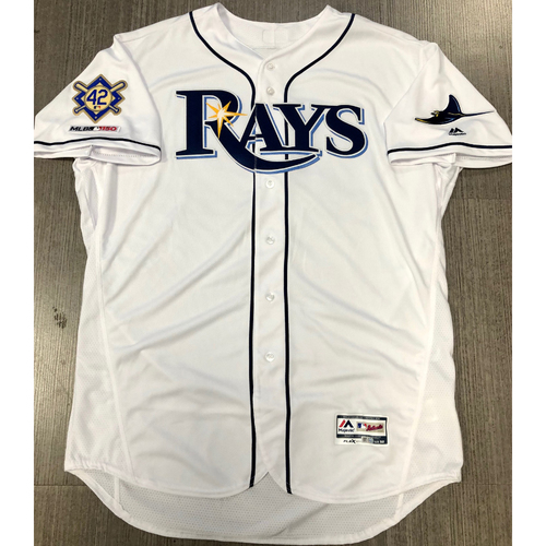 Photo of Team Issued Jackie Robinson Day Jersey - Size 52