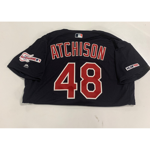 Photo of Team Issued 2019 Alternate Navy Jersey - Scott Atchison #48
