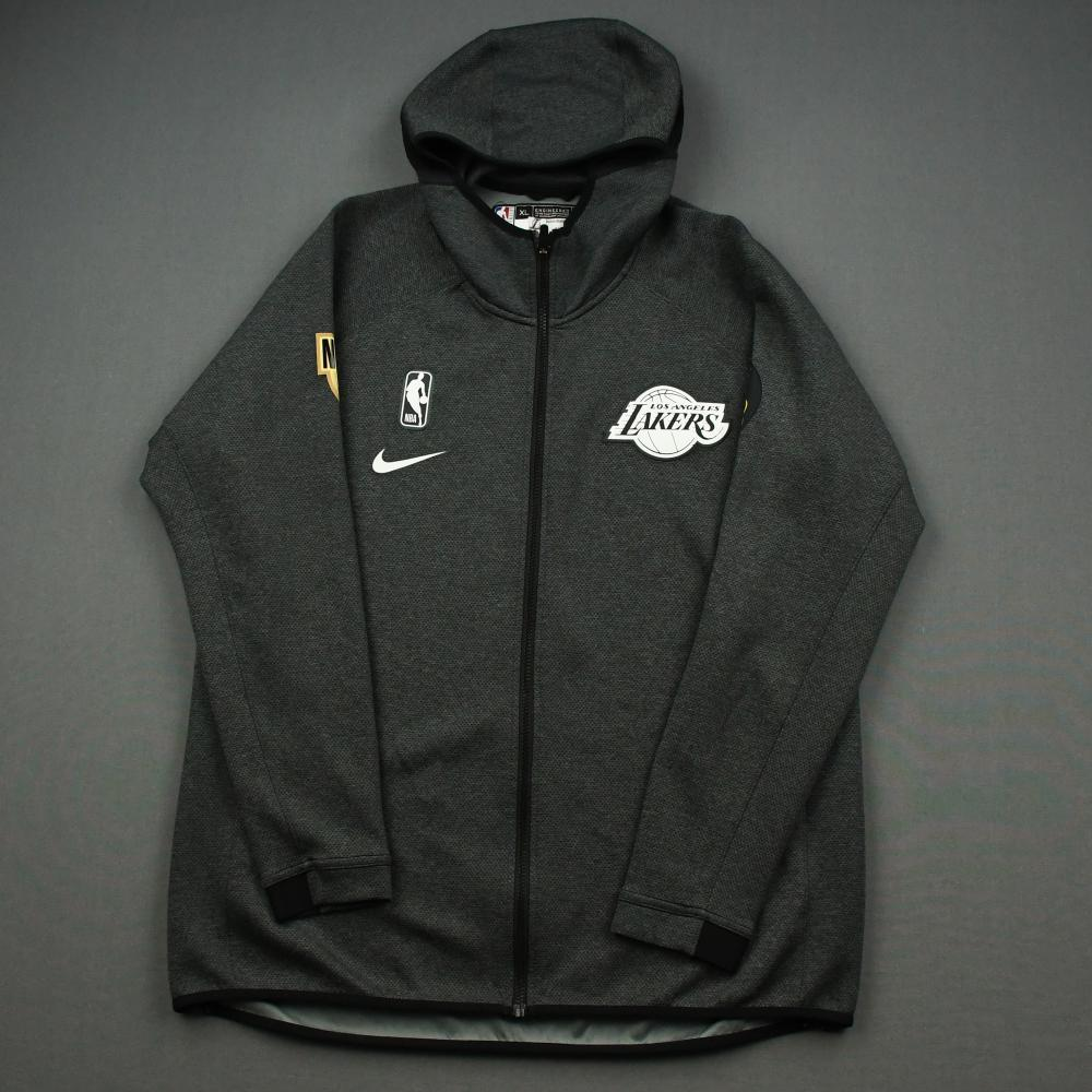 Kostas Antetokounmpo - Los Angeles Lakers - 2020 NBA Finals - Game-Issued Hooded Warmup Jacket