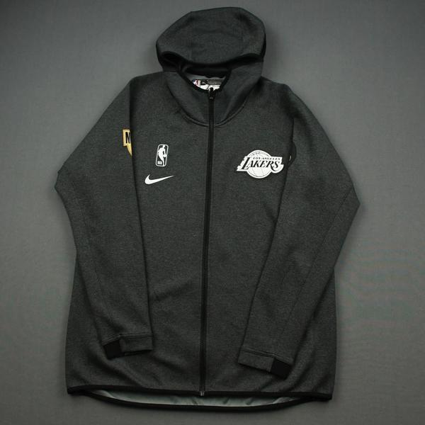Image of Kostas Antetokounmpo - Los Angeles Lakers - 2020 NBA Finals - Game-Issued Hooded Warmup Jacket