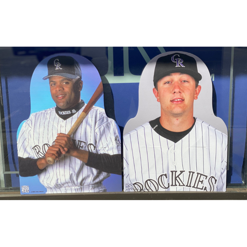 Photo of Colorado Rockies Foundation: NL Shortstop Gold Glove Set- Neifi Perez and Troy Tulowitzki