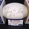 Patriots - Tre Flowers Signed Panel Ball w/ Patriots Logo