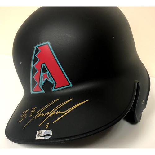 Eduardo Escobar Autographed Batting Helmet