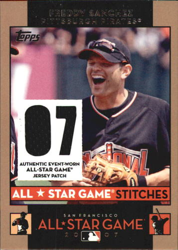 Photo of 2007 Topps Update All-Star Stitches #FS Freddy Sanchez