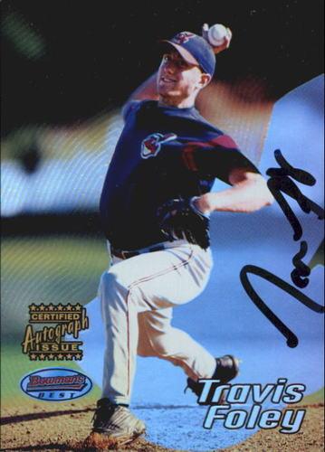 Photo of 2002 Bowman's Best #125 Travis Foley AU A RC