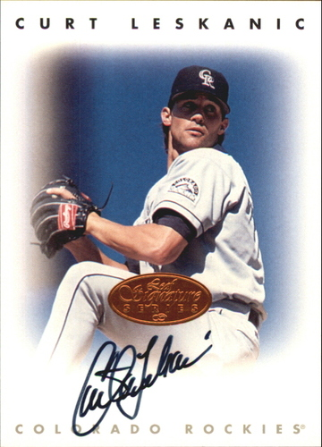 Photo of 1996 Leaf Signature Autographs #133 Curtis Leskanic