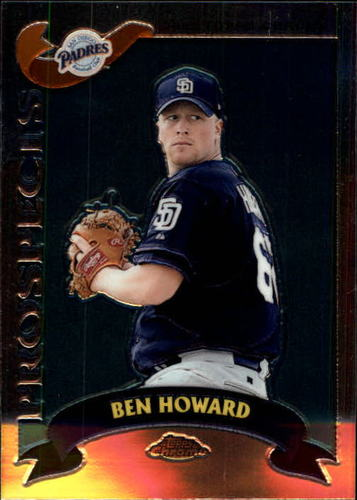 Photo of 2002 Topps Chrome Traded #T144 Ben Howard RC