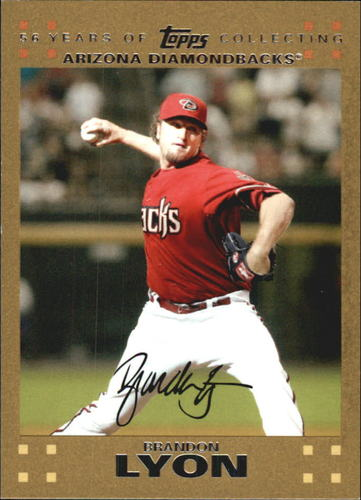 Photo of 2007 Topps Update Gold #46 Brandon Lyon