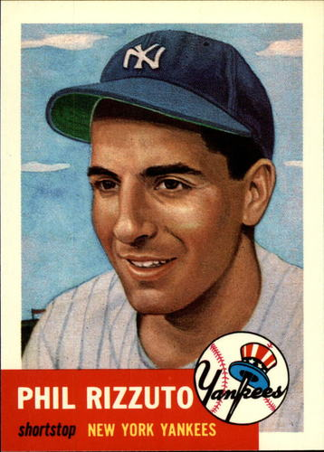 Photo of 1991 Topps Archives 1953 #114 Phil Rizzuto
