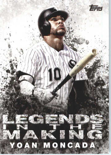 Photo of 2018 Topps Legends in the Making #LTMYO Yoan Moncada