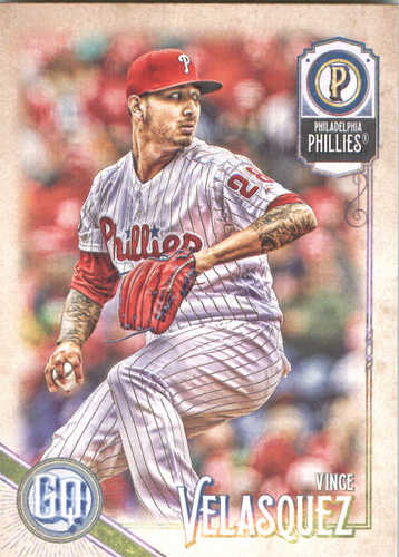 Photo of 2018 Topps Gypsy Queen #195 Vince Velasquez