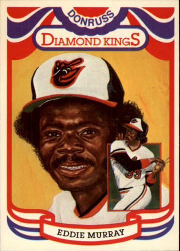 Photo of 1984 Donruss #22 Eddie Murray -- Hall of Fame Class of 2003