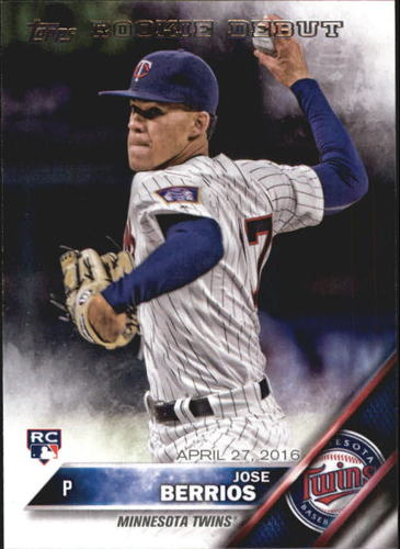 Photo of 2016 Topps Update #US228 Jose Berrios Rookie Card