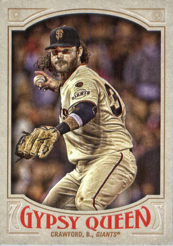 Photo of 2016 Topps Gypsy Queen #116 Brandon Crawford