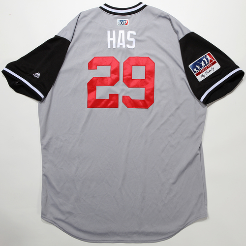 "Photo of Curt ""Has"" Hasler Chicago White Sox Game-Used 2018 Players' Weekend Jersey"