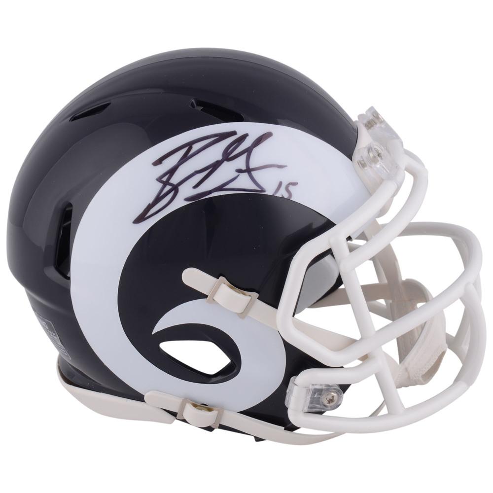 Ryan Getzlaf Anaheim Ducks Autographed Los Angeles Rams Mini Helmet