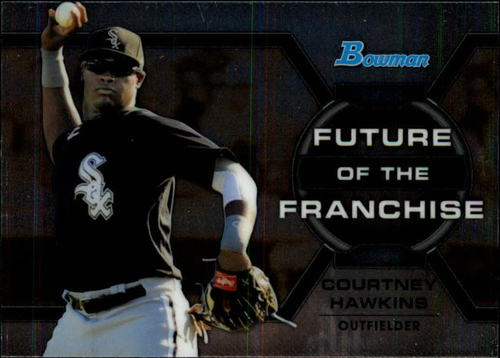 Photo of 2013 Bowman Draft Future of the Franchise #CH Courtney Hawkins