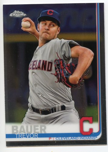 Photo of 2019 Topps Chrome #107 Trevor Bauer