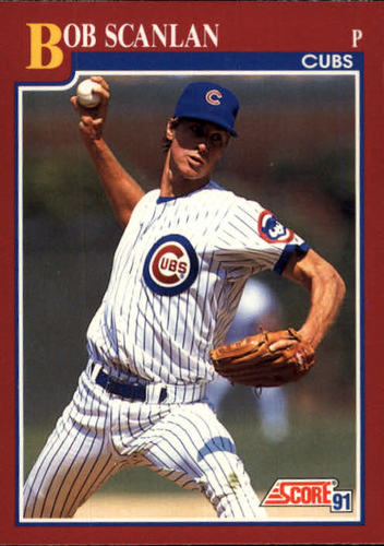 Photo of 1991 Score Rookie/Traded #102T Bob Scanlan RC