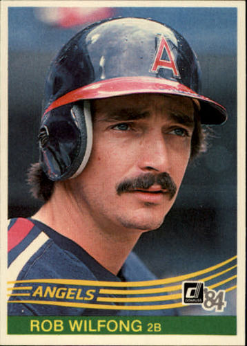 Photo of 1984 Donruss #329 Rob Wilfong