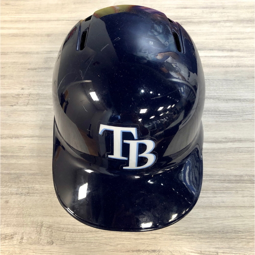 Photo of Team Issued Left-Flap Helmet: Jesus Aguilar (Postseason Sticker NOT MLB Authenticated)