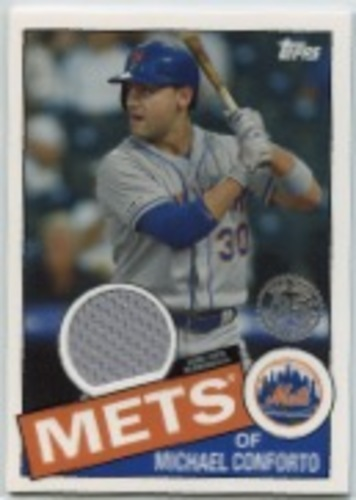 Photo of 2020 Topps '85 Topps Relics #85TRMCO Michael Conforto