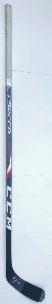 #88 Nathan Beaulieu Game Used Stick - Autographed - Winnipeg Jets