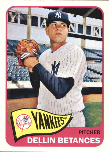 Photo of 2014 Topps Heritage #H564 Dellin Betances