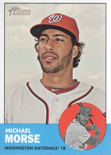 Photo of 2012 Topps Heritage #69 Michael Morse