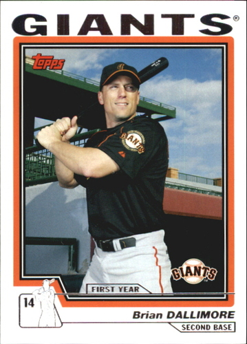 Photo of 2004 Topps Traded #T112 Brian Dallimore FY RC