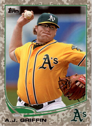 Photo of 2013 Topps Camo #370 A.J. Griffin
