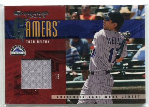 Photo of 2003 Donruss Gamers #37 Todd Helton