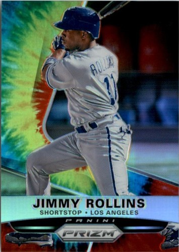 Photo of 2015 Panini Prizm Prizms Tie Dyed #84 Jimmy Rollins