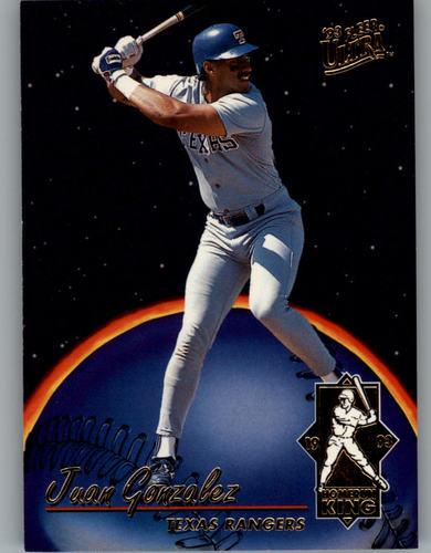 Photo of 1993 Ultra Home Run Kings #1 Juan Gonzalez