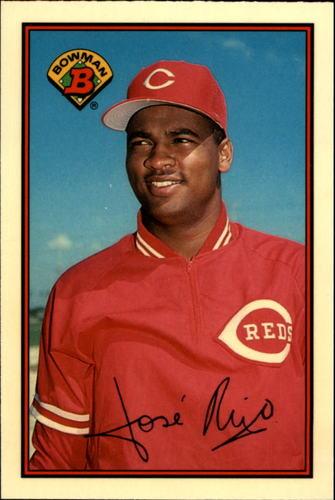 Photo of 1989 Bowman Tiffany #300 Jose Rijo