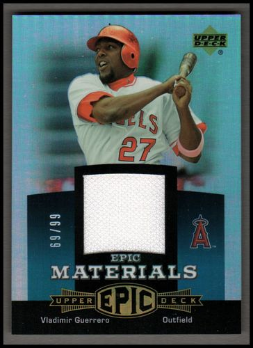 Photo of 2006 Upper Deck Epic Materials Teal #VG Vladimir Guerrero Jsy/99