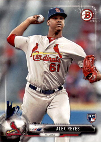 Photo of 2017 Bowman #98 Alex Reyes Rookie Card