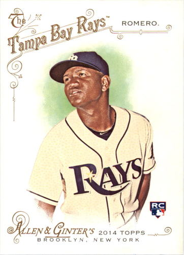 Photo of 2014 Topps Allen and Ginter #299 Enny Romero RC