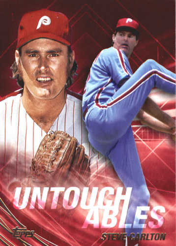 Photo of 2017 Topps Update Untouchables #U16 Steve Carlton