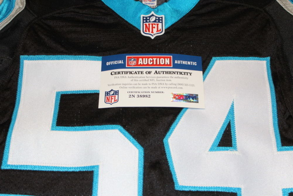 NFL Auction | STS - PANTHERS SHAQ THOMPSON GAME WORN PANTHERS ...
